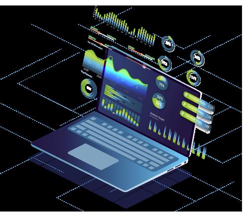 Icono Análisis del rendimiento de las aplicaciones