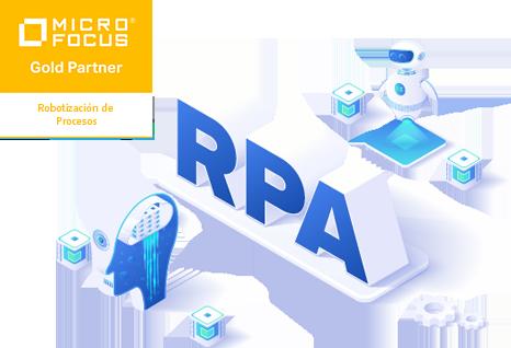 Icono Robotización de Procesos (RPA)