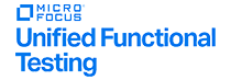 Logotipo Microfocus Unified Functional Testing