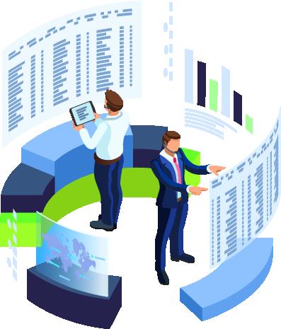 Icono Servicio de Monitorización de Infraestructuras / Cloud