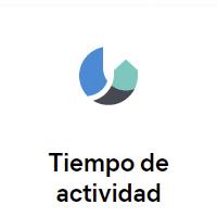 Icono Tiempo de actividad Elasticsearch