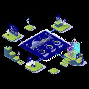 Vector herramientas digitalización